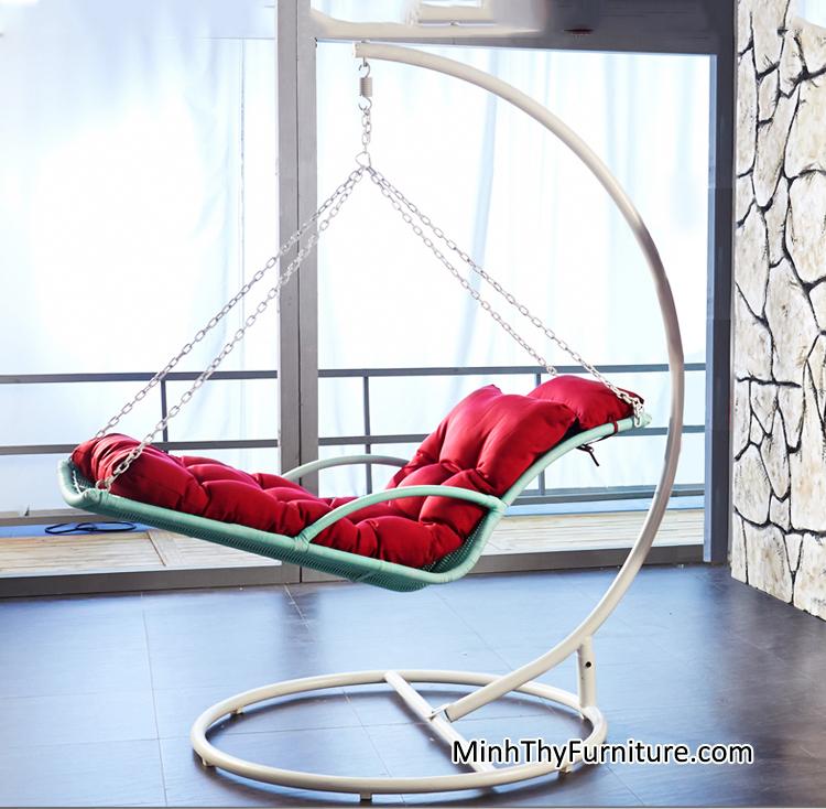 Thời trang và phong cách cùng ghế xích đu treo hiện đại