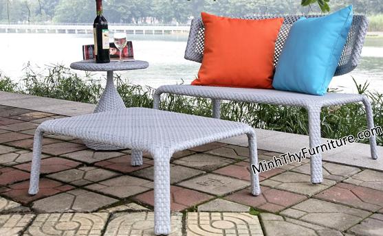 Bàn ghế nhựa giả mây MT238 - Sản phẩm nội thất giả mây Minh Thy