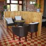 Minh Thy Furniture cung cấp bàn ghế cafe nhựa giả mây cho Quán Mít Cafe – Phan Thiết