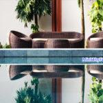 Bàn ghế mây nhựa ứng cử viên sáng giá cho nội thất resort