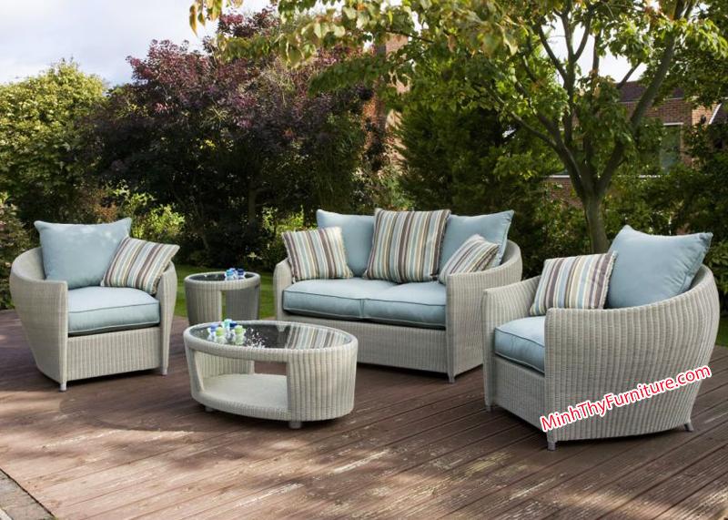 Sofa trang trí ngoài sân vườn - Ngoại thất sân vườn Minh Thy Furniture
