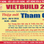 Công Ty Nội Thất Minh Thy Tham Gia Triển Lãm Quốc Tế VietBuild năm 2016