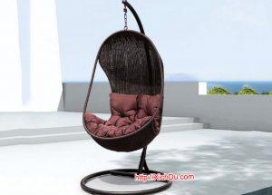 Ghế xích đu nhựa giả mây MT926