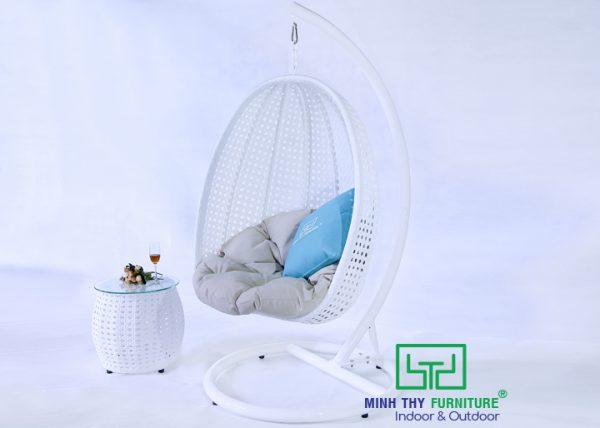 Ghế xích đu nhựa giả mây MT902