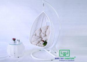 Xích đu nhựa giả mây MT909