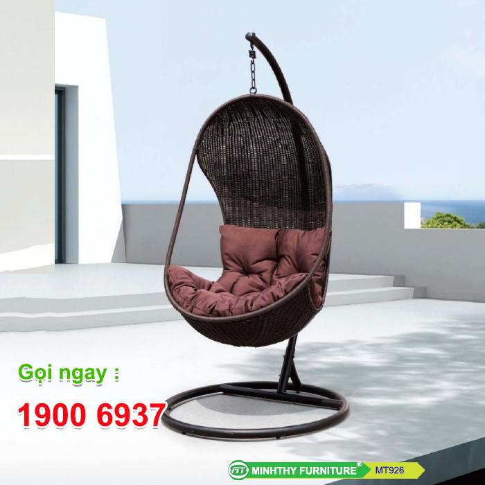Xích đu mây nhựa MT926 - Minh Thy Furniture