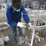 Sản xuất bàn ghế cafe nhựa giả mây MT2A14 khung nhôm