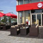 Givral cafe chọn mua sofa mây nhựa của Minh Thy Furniture