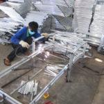 Video sản xuất khung ghế nằm bãi biển tại xưởng cơ khí của Nột Thất Minh Thy