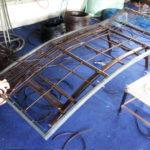 Mẫu ghế hồ bơi MT429 được tạo hình tại xưởng đan của Minh Thy Furniture