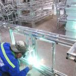 Sản xuất khung nhôm cho mẫu giường tắm nắng MT4A18 tại xưởng cơ khí Minh Thy Furniture