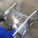 Video sản xuất mẫu khung sườn ghế cafe mây nhựa ngoài trời MT2A5 tại xưởng cơ khí Minh Thy Furniture