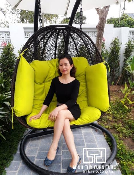 Senvila Boutique Hoi An Resort & Spa chọn sản phẩm ngoại thất giả mây của Minh Thy Furniture
