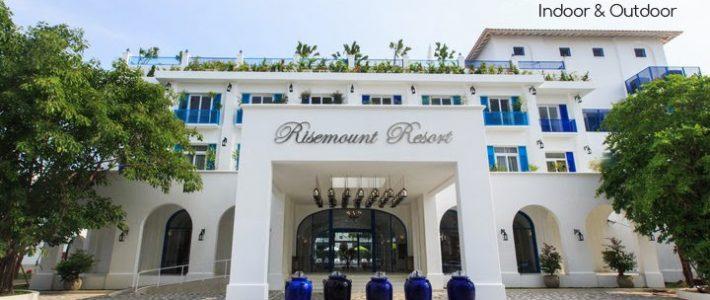Risemount Resort Đà Nẵng tin dùng sản phẩm ngoại thất mây nhựa của Minh Thy Furniture