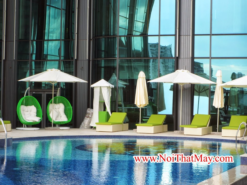 Minh Thy Furniture Cung cấp bàn ghế mây nhựa cho Dự án Sài Gòn Time Square