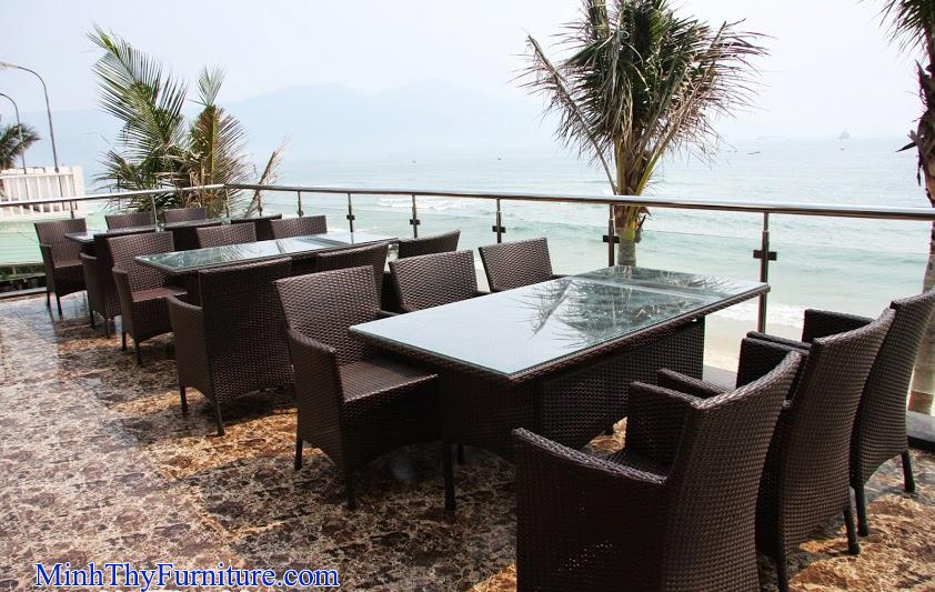 Bàn ghế ngoài trời của Minh Thy Furniture