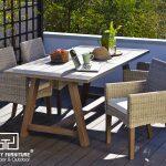 Bộ bàn ghế giả mây giá rẻ giúp bạn tiết kiệm chi phí đầu tư kinh doanh