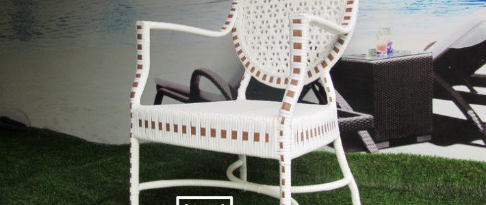 Sản xuất sản phẩm ghế cafe mây nhựa theo mẫu của khách hàng