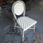 Ghế cafe giả mây mẫu sản xuất theo yêu cầu của khách hàng