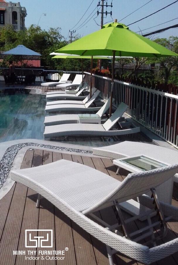 Dự án cung cấp ghế hồ bơi ngoài trời cho The Villa Hoi An Boutique Hotel 2