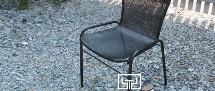 Làm sao để có ghế sắt lưới đẹp mắt