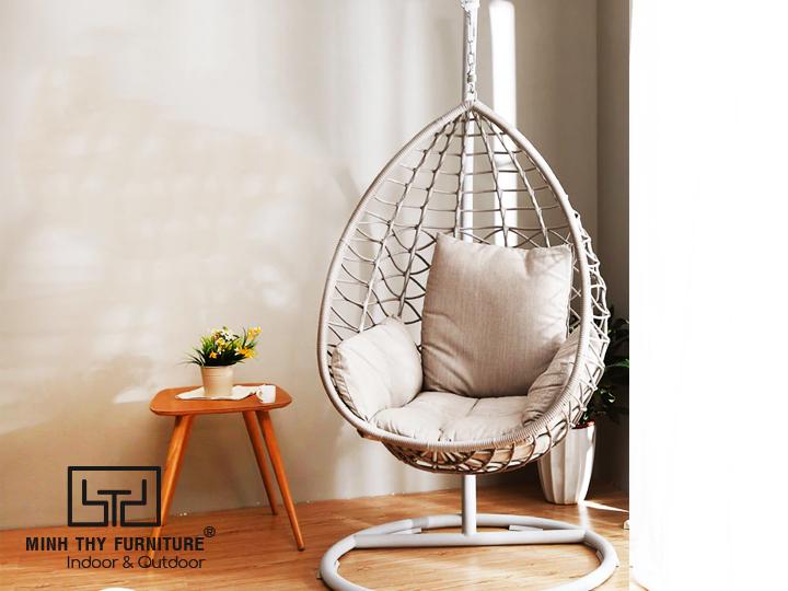 Xích đu mây MT963 - sản phẩm mới của Minh Thy Furniture trong năm 2019