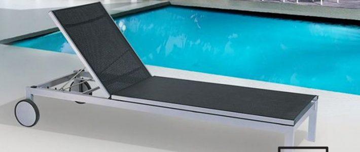 Dòng ghế hồ bơi textilene phù hợp với môi trường biển