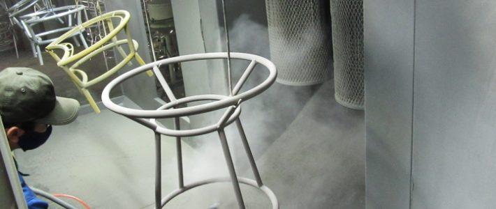 Ý nghĩa của việc sơn tĩnh điện cho bàn ghế sắt 1