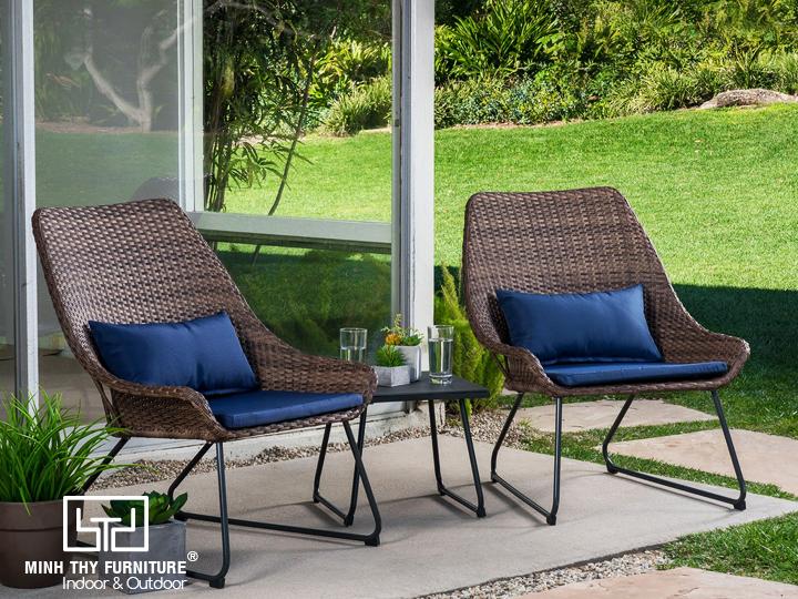Thiết kế ghế thư giãn được nhiều khách hàng yêu thích với tựa lưng cao