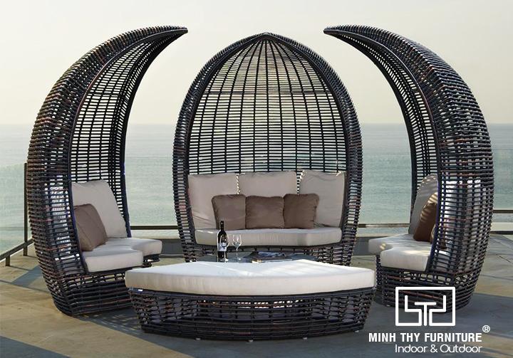 Giường hồ bơi dạng sofa big size