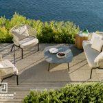 Bàn ghế ngoài trời ấn tượng làm mới không gian sân vườn của bạn