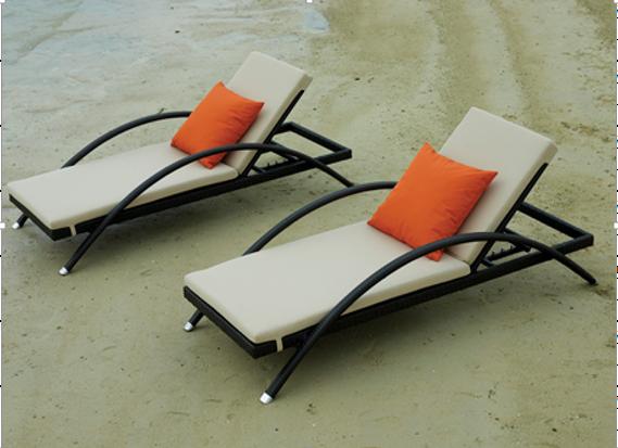 Giường nằm tắm nắng giúp bạn thư giãn tuyệt đối