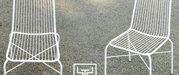 Sản xuất mẫu ghế sắt giá rẻ tại xưởng cơ khí Minh Thy Furniture