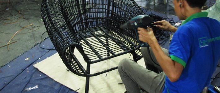 Điều gì làm nên sự hấp dẫn của ghế bành mây nhựa MT2A223