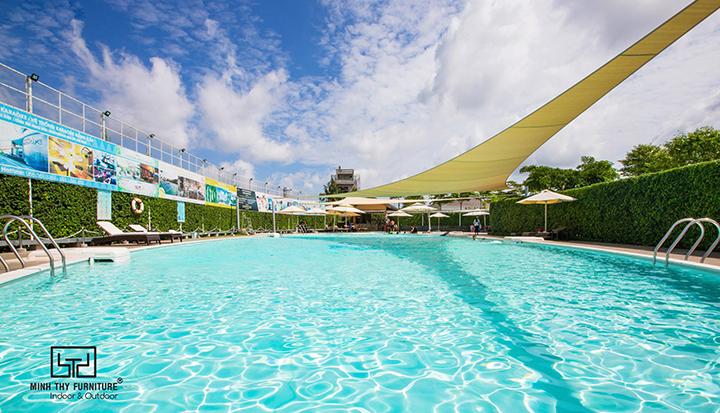 Hồ bơi Cana đặt hàng giường nằm hồ bơi của Minh Thy Furniture 3