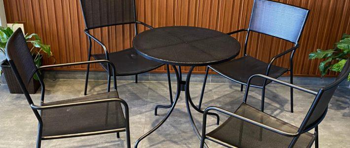 Ra mẫu ghế sắt lưới BSG321 cao cấp cho quán cafe