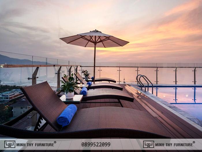 Ghế hồ bơi ngoài trời Sunny Ocean Hotel & Spa