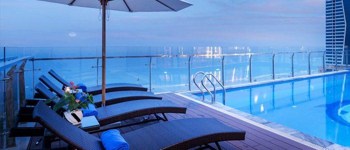 Bàn ghế cafe, ghế hồ bơi Minh Thy Furniture tại Sunny Ocean Hotel & Spa