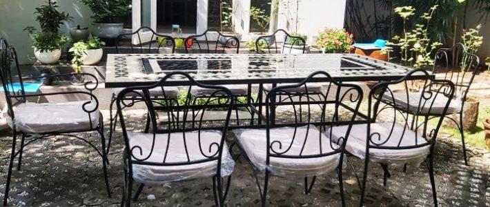 tạo riêng một nơi nghỉ dưỡng ngoài trời ấm cúng ngay trong khuôn viên sống của mình