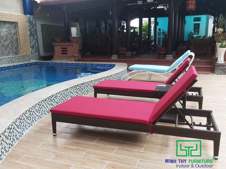 Giường hồ bơi chất lượng chuẩn resorts tại gia